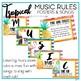 Music Room Decor Kit {Tropical Theme}