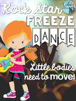 Brain Breaks - Rock Star Freeze Dance