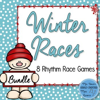 Winter Rhythm Races {8-Game Bundle}