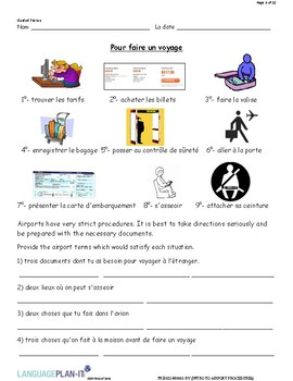 INTRO TO AIRPORT PROCEDURES (FRENCH)