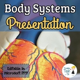Introduction to Body Systems - Editable in Microsoft PPT!
