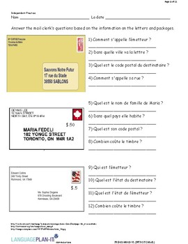 INTRO TO MAIL (FRENCH)