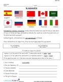 INTRO TO NATIONALITIES (ITALIAN)