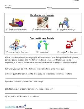 INTRO TO PHONES (SPANISH)