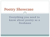 INTRO TO POETRY 8th-12th grades