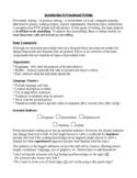INTRO TO PROCEDURAL WRITING HANDOUT, GRADE 6 7 8, ONTARIO CURRICULUM, RUBRIC