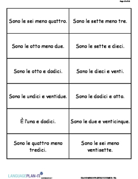 INTRO TO TIME 31-59 (ITALIAN)