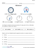 INTRO TO TIME EXPRESSIONS (SPANISH)