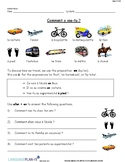 INTRO TO TRANSPORTATION (FRENCH)
