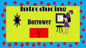 INTRODUCING BORROWER Y