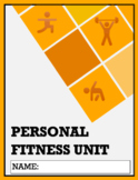 Personal Fitness: Mini-Unit & Package (Distance Learning)