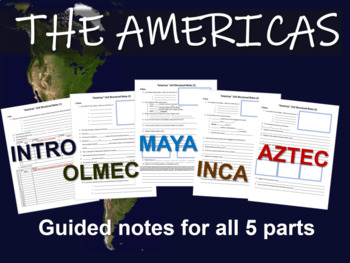 INTRODUCTION - part 1 of the epic, engaging 110-slide PPT on the AMERICAS