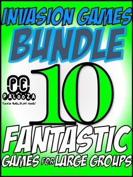 INVASION GAMES BUNDLE - 9 FANTASTIC GAMES FOR LARGE GROUPS