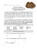 INVASIVE SPECIES: Poisonous Cane Toads!  Comprehensive les