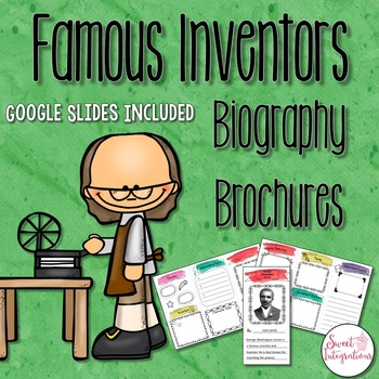 INVENTOR BROCHURES: Editable PowerPoint and Google Slides