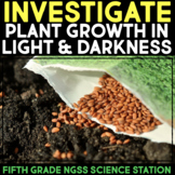 INVESTIGATE Effect of Light on Seed Germination - Plant Growth Science Station