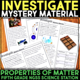 INVESTIGATE Mystery Material - Properties of Matter Science Station