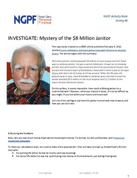 INVESTIGATE: Mystery of the $8 Million Janitor