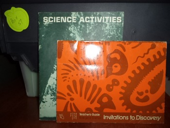 INVITATION TO DISCOVERY   SCIENCE ACTIVITIES  (SET OF 2)
