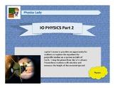IO Physics Part 2