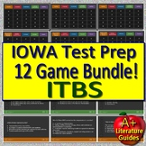 IOWA ELA Review Game Bundle (ITBS - Iowa Test of Basic Skills) 12 Review Games
