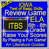 IOWA ELA Review Game II Grades 6 - 8 (ITBS Iowa Test of Basic Skills)