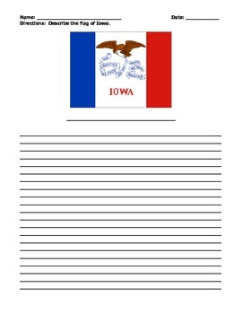 IOWA FACTS UNIT (GRADES 3 - 5)