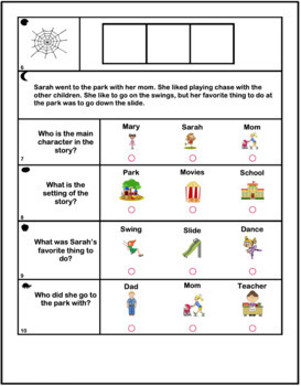 IOWA Practice Assessment for Reading