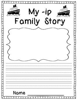 IP Word Family Mini Pack