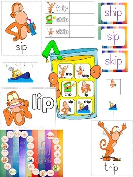IP word family pack