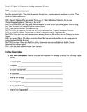 IPA Interpretive Reading Assessment