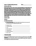 IPA Interpretive Reading Assessment--School subjects, like