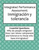 IPA Lesson: Immigration and Tolerance