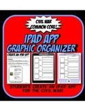 IPAD Civil War Graphic Organizer