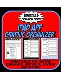 IPAD Graphic Organizer Template for Writing, Reading or History