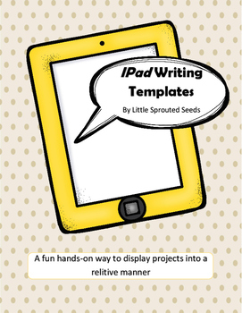 IPAD Template Writing, Science, Project
