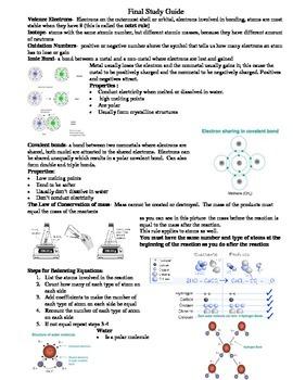 ipc chemistry study guide by lundberg s lessons tpt rh teacherspayteachers com chemistry study guide ib chemistry study guide chapter 3