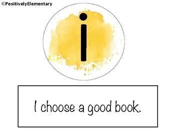 IPICK Good Fit Books Watercolor Theme