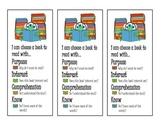 IPICK Monster Bookmarks