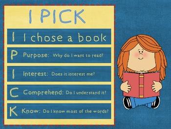 IPICK - Reading Girl