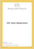 IPL Hair Reduction Workbook