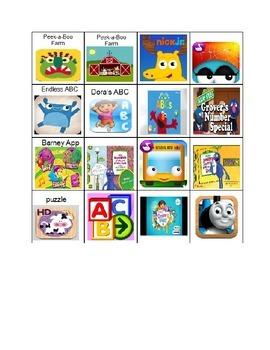 IPad App Choice Board