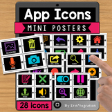 iPad App Icon Cards - 28 App Icons to Know