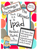 IPad Technology Packet- App Handouts and Direction Pages