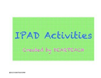 IPad ideas