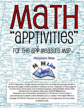 IPads and Math Apptivities Using Measure Map