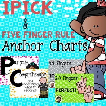 IPick and Five Finger Rule Anchor Charts