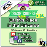Crash Course Kids,  Earth's Place in the Universe | Distance Learning