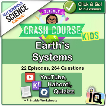 Crash Course Kids,  Earth's Systems - IQ, NGSS
