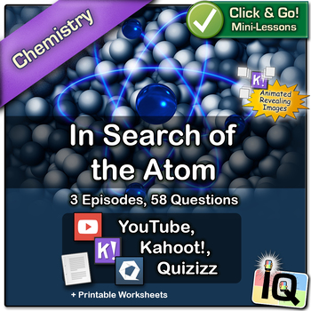 In Search of the Atom - Quizizz and Kahoot!